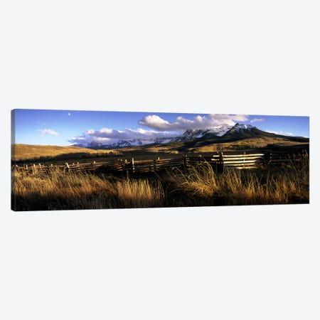 Mountainside Landscape, San Miguel County, Colorado, USA Canvas Print #PIM7459} by Panoramic Images Canvas Art