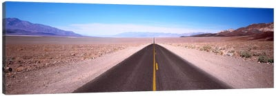 Arid Valley Landscape Along California State Route 190, Death Valley National Park Canvas Art Print