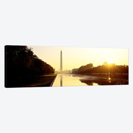 Washington MonumentWashington DC, District of Columbia, USA Canvas Print #PIM74} by Panoramic Images Canvas Wall Art