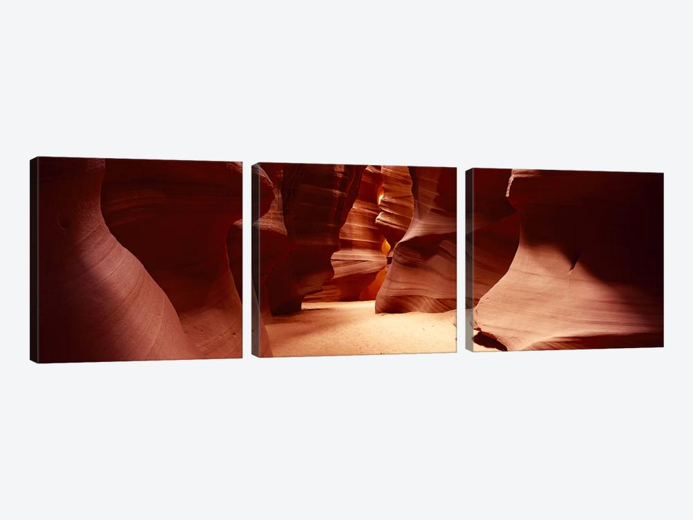 Upper Antelope Canyon (The Crack), Navajo Nation, Arizona, USA by Panoramic Images 3-piece Canvas Print