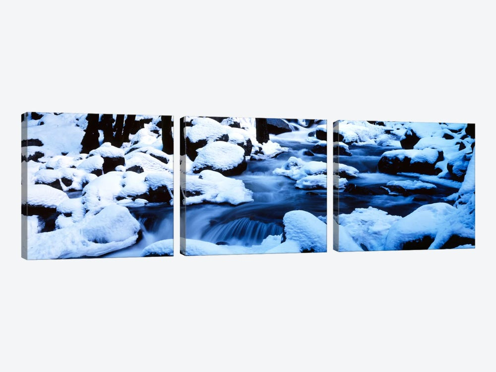 Winter Yosemite National Park CA by Panoramic Images 3-piece Art Print