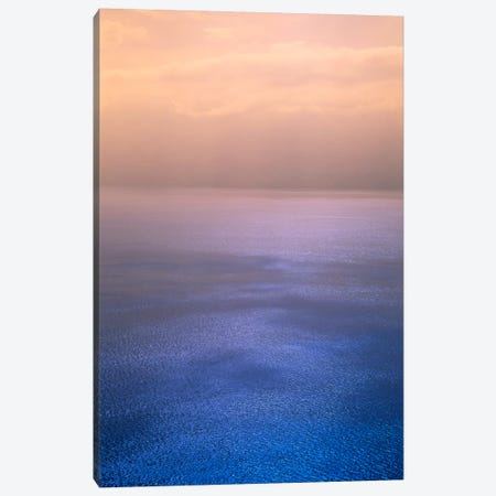 Rippled Chromatic Cloud Reflections, Lake Geneva, Switzerland Canvas Print #PIM752} by Panoramic Images Canvas Artwork