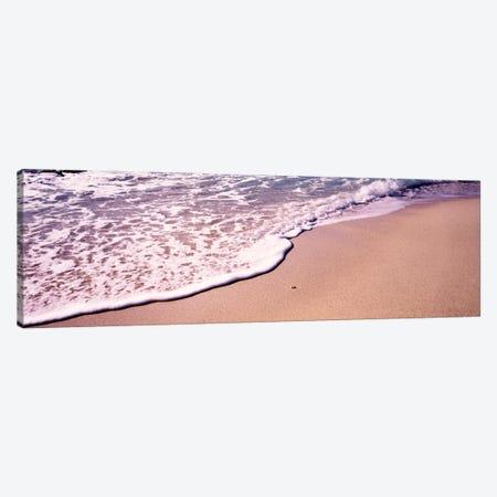 Bubbly Surf, The Baths, Virgin Gorda, British Virgin Islands Canvas Print #PIM756} by Panoramic Images Canvas Print