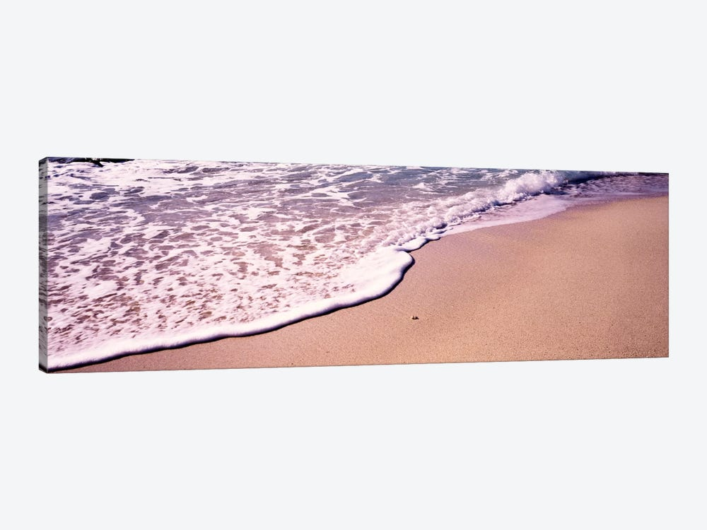 Bubbly Surf, The Baths, Virgin Gorda, British Virgin Islands by Panoramic Images 1-piece Canvas Art