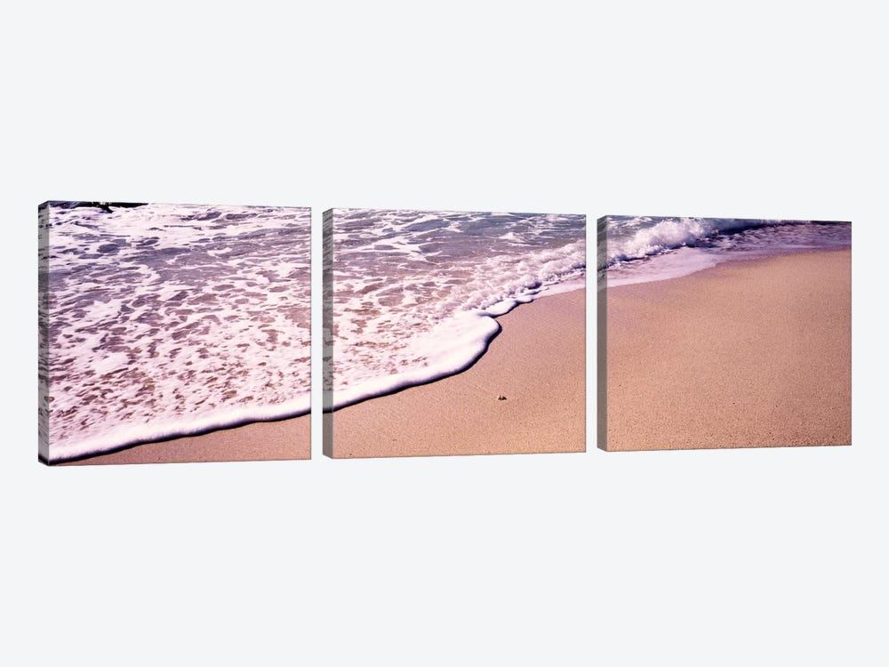 Bubbly Surf, The Baths, Virgin Gorda, British Virgin Islands by Panoramic Images 3-piece Canvas Artwork