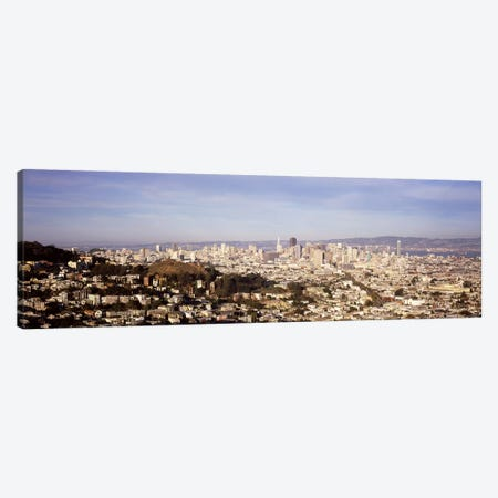 High angle view of a city, San Francisco, California, USA #2 Canvas Print #PIM7592} by Panoramic Images Art Print