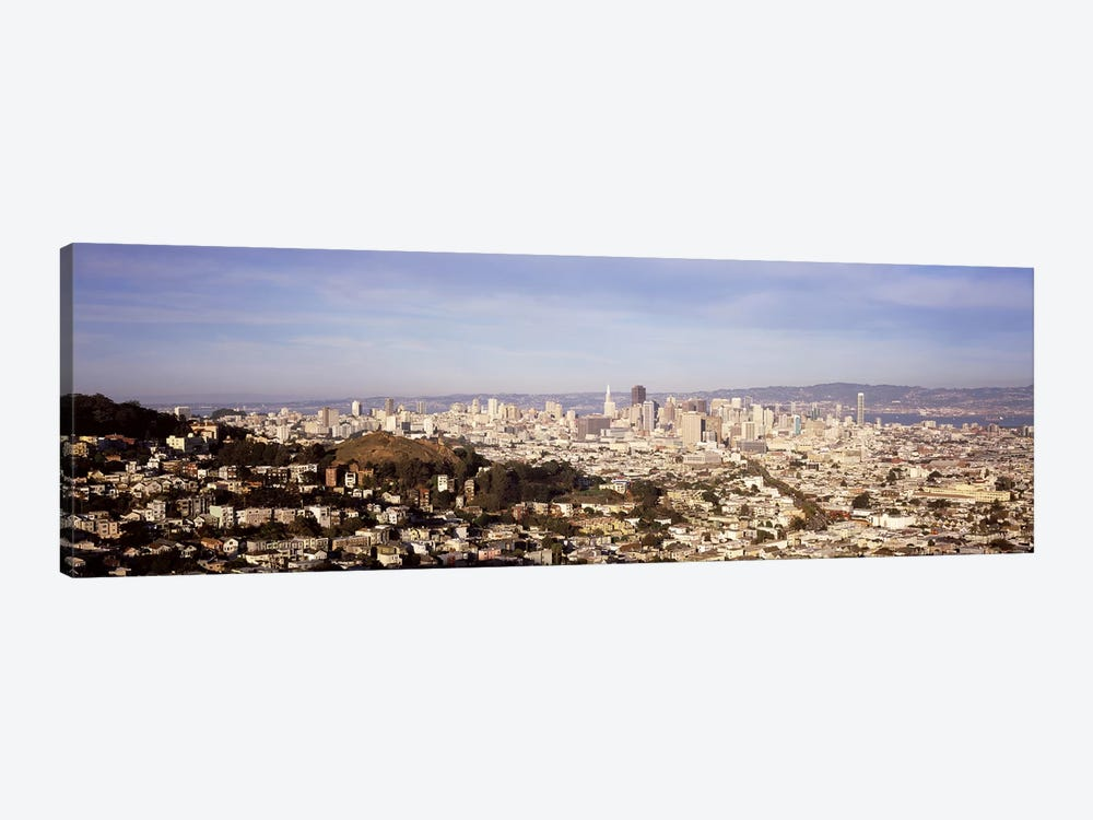 High angle view of a city, San Francisco, California, USA #2 by Panoramic Images 1-piece Canvas Print