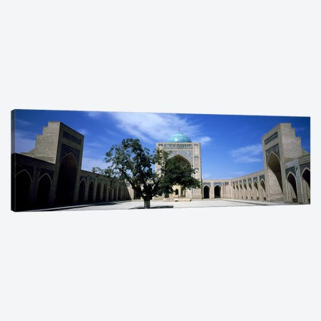 Courtyard of a mosque, Kalon Mosque, Bukhara, Uzbekistan Canvas Print #PIM7658} by Panoramic Images Canvas Wall Art