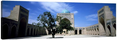 Courtyard of a mosque, Kalon Mosque, Bukhara, Uzbekistan Canvas Print #PIM7658