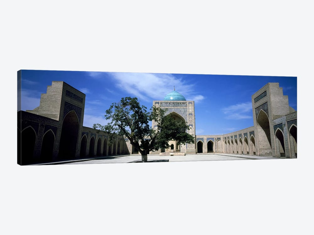 Courtyard of a mosque, Kalon Mosque, Bukhara, Uzbekistan by Panoramic Images 1-piece Canvas Print
