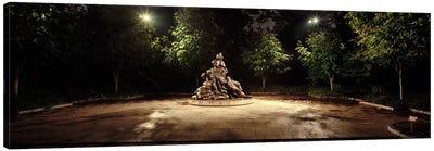 Sculpture in a memorial, Vietnam Women's Memorial, Washington DC, USA Canvas Print #PIM7664