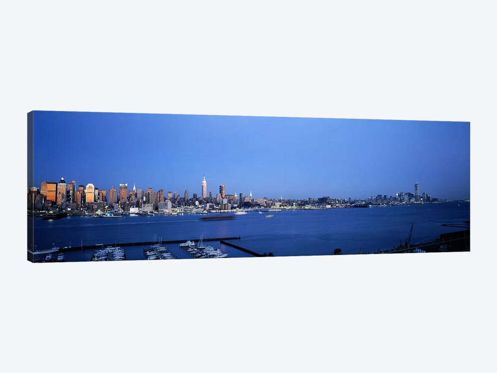 City viewed from Hamilton Park, New York City, New York State, USA by Panoramic Images 1-piece Canvas Artwork