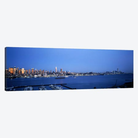City viewed from Hamilton Park, New York City, New York State, USA Canvas Print #PIM7666} by Panoramic Images Canvas Artwork