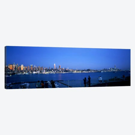 City viewed from Hamilton Park, New York City, New York State, USA #2 Canvas Print #PIM7667} by Panoramic Images Canvas Art