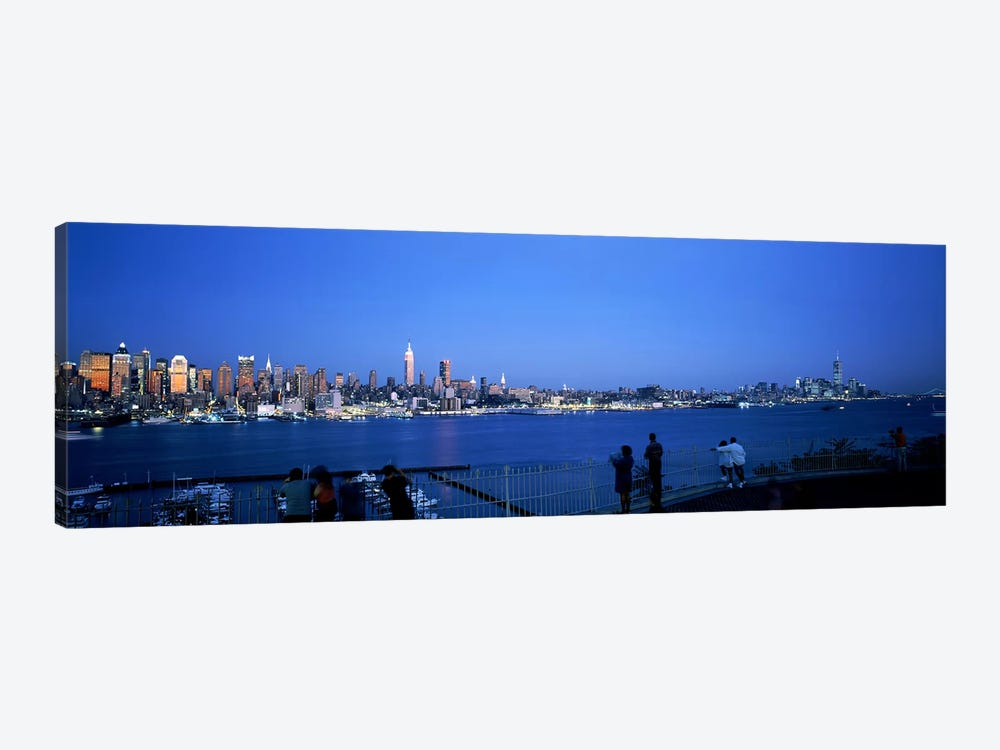 City viewed from Hamilton Park, New York City, New York State, USA #2 by Panoramic Images 1-piece Canvas Print