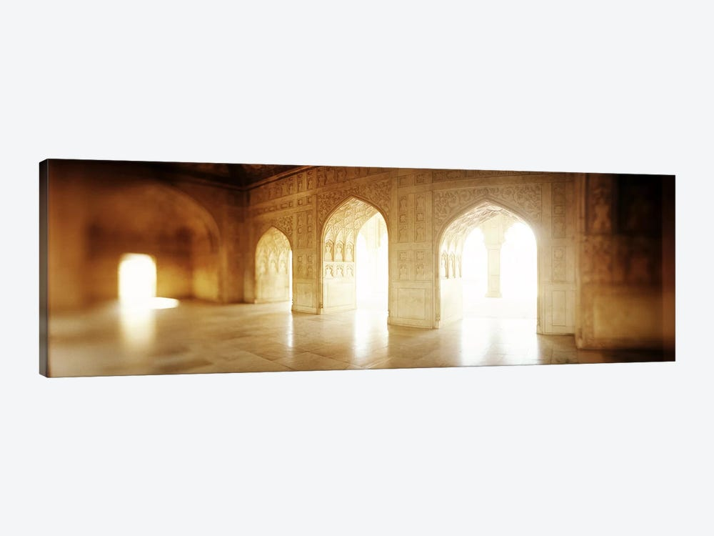 Interiors of a hall, Agra Fort, Agra, Uttar Pradesh, India by Panoramic Images 1-piece Canvas Artwork