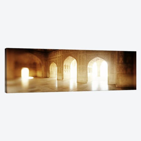Interiors of a hall, Agra Fort, Agra, Uttar Pradesh, India Canvas Print #PIM7675} by Panoramic Images Canvas Print