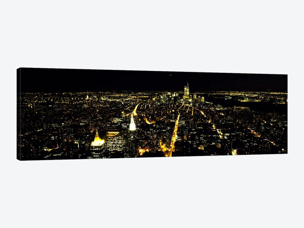 Aerial view of a city, New York City, New York State, USA #2 by Panoramic Images 1-piece Art Print