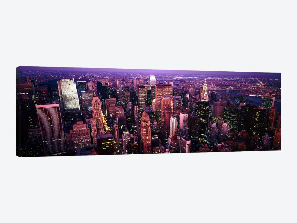 Aerial view of a cityManhattan, New York City, New York State, USA by Panoramic Images 1-piece Art Print