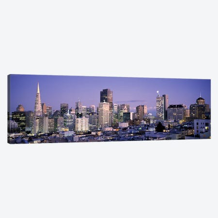 High angle view of a city, San Francisco, California, USA #3 Canvas Print #PIM7720} by Panoramic Images Canvas Artwork