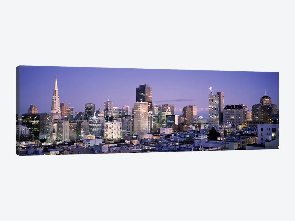 High angle view of a city, San Francisco, California, USA #3 by Panoramic Images 1-piece Art Print