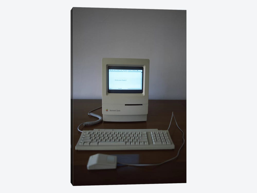 Apple Macintosh Classic desktop PC 1-piece Canvas Art