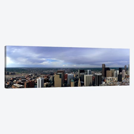 Buildings in a city, Denver, Denver county, Colorado, USA #2 Canvas Print #PIM7744} by Panoramic Images Canvas Art Print