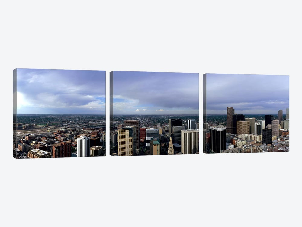 Buildings in a city, Denver, Denver county, Colorado, USA #2 by Panoramic Images 3-piece Art Print