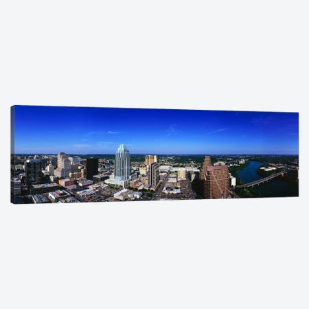 Aerial view of a city, Austin, Travis county, Texas, USA Canvas Print #PIM7746} by Panoramic Images Canvas Print