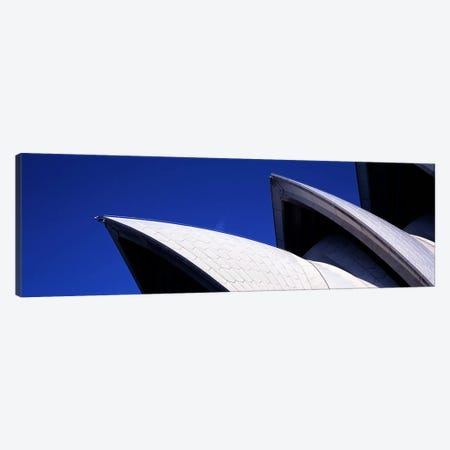 Low angle view of opera house sails, Sydney Opera House, Sydney Harbor, Sydney, New South Wales, Australia Canvas Print #PIM7749} by Panoramic Images Canvas Artwork