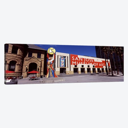Art museum in a city, San Jose Museum Of Art, Downtown San Jose, San Jose, Santa Clara County, California, USA Canvas Print #PIM7764} by Panoramic Images Art Print