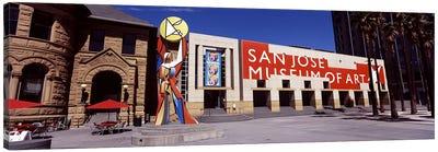 Art museum in a city, San Jose Museum Of Art, Downtown San Jose, San Jose, Santa Clara County, California, USA Canvas Art Print
