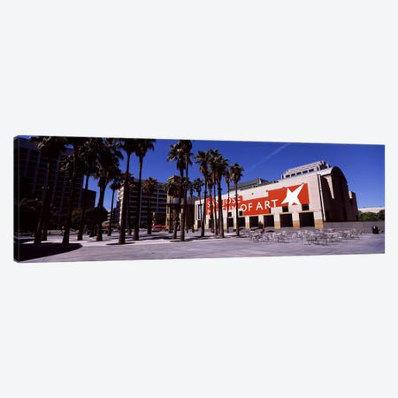 Art museum in a citySan Jose Museum of Art, Downtown San Jose, San Jose, Santa Clara County, California, USA Canvas Print #PIM7765} by Panoramic Images Art Print