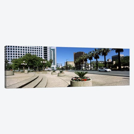 Office buildings in a cityDowntown San Jose, San Jose, Santa Clara County, California, USA Canvas Print #PIM7766} by Panoramic Images Canvas Art Print