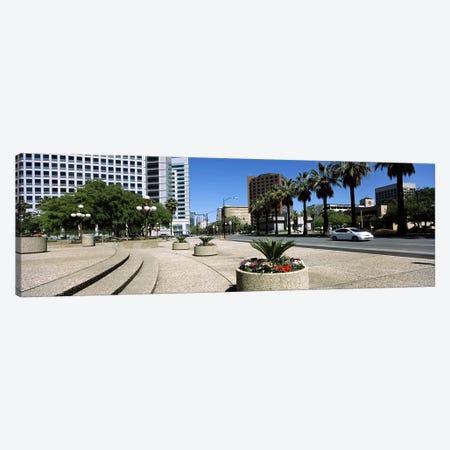 Office buildings in a cityDowntown San Jose, San Jose, Santa Clara County, California, USA Canvas Print #PIM7766} by Panoramic Images Canvas Art Print