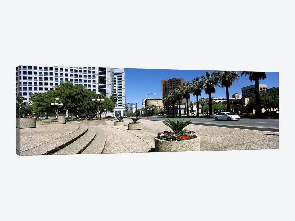 Office buildings in a cityDowntown San Jose, San Jose, Santa Clara County, California, USA by Panoramic Images 1-piece Art Print