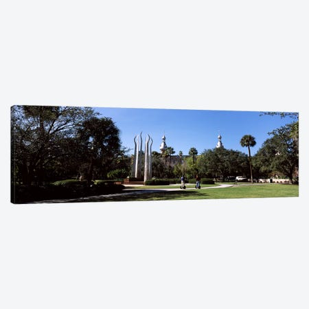 University students in the campusPlant Park, University of Tampa, Tampa, Hillsborough County, Florida, USA Canvas Print #PIM7780} by Panoramic Images Canvas Artwork