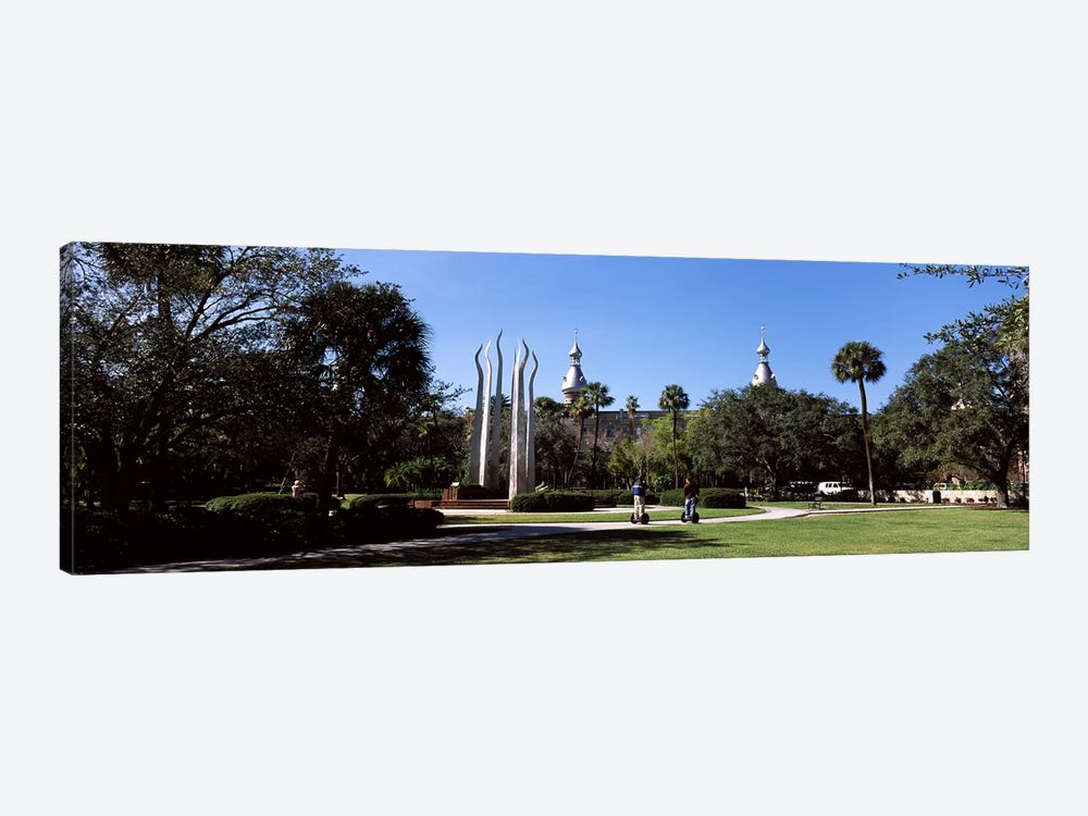 University students in the campusPlant Park, University of Tampa, Tampa, Hillsborough County, Florida, USA by Panoramic Images 1-piece Art Print