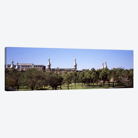 Trees in a campusPlant Park, University of Tampa, Tampa, Hillsborough County, Florida, USA Canvas Print #PIM7781} by Panoramic Images Canvas Artwork