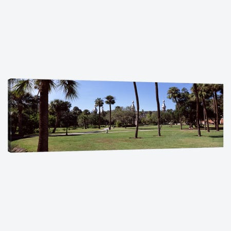 Trees in a campusPlant Park, University of Tampa, Tampa, Hillsborough County, Florida, USA Canvas Print #PIM7782} by Panoramic Images Canvas Wall Art