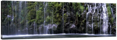WaterfallMossbrae Falls, Sacramento River, Dunsmuir, Siskiyou County, California, USA Canvas Art Print