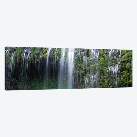 Waterfall, Mossbrae Falls, Sacramento River, Dunsmuir, Siskiyou County, California, USA Canvas Print #PIM7793} by Panoramic Images Canvas Art Print