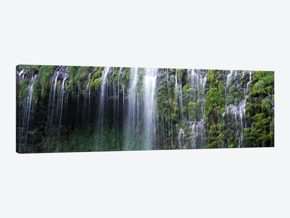 Waterfall, Mossbrae Falls, Sacramento River, Dunsmuir, Siskiyou County, California, USA by Panoramic Images 1-piece Canvas Art Print