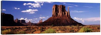 West Mitten Butte, Monument Valley, Navajo Nation, Arizona, USA Canvas Print #PIM7797