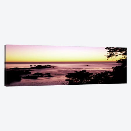 Sea at sunset, Point Lobos State Reserve, Carmel, Monterey County, California, USA #2 Canvas Print #PIM7819} by Panoramic Images Canvas Wall Art