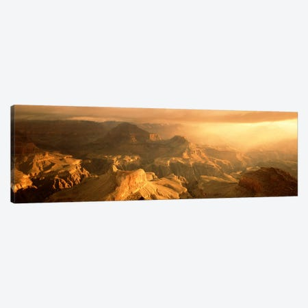 Sunrise Hopi Point Grand Canyon National Park AZ USA Canvas Print #PIM782} by Panoramic Images Canvas Print
