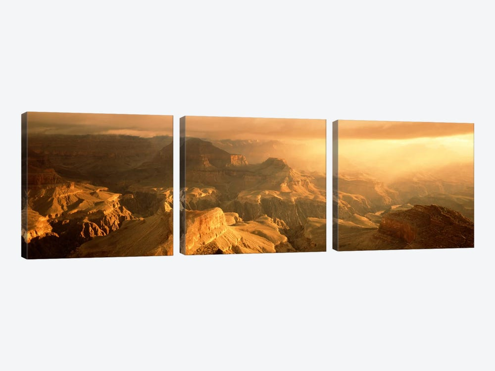 Sunrise Hopi Point Grand Canyon National Park AZ USA by Panoramic Images 3-piece Art Print