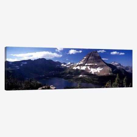 Bearhat Mountain & Hidden Lake, Glacier National Park, Montana, USA Canvas Print #PIM7864} by Panoramic Images Canvas Artwork