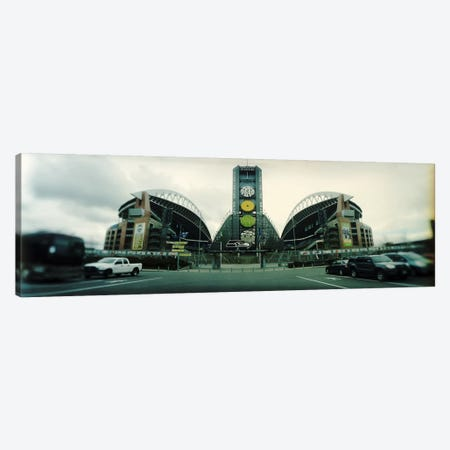 Facade of a stadium, Qwest Field, Seattle, Washington State, USA Canvas Print #PIM7885} by Panoramic Images Canvas Artwork