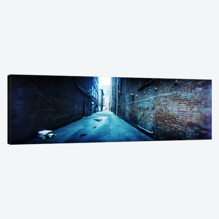 Buildings along an alley, Pioneer Square, Seattle, Washington State, USA Canvas Print #PIM7886} by Panoramic Images Canvas Art